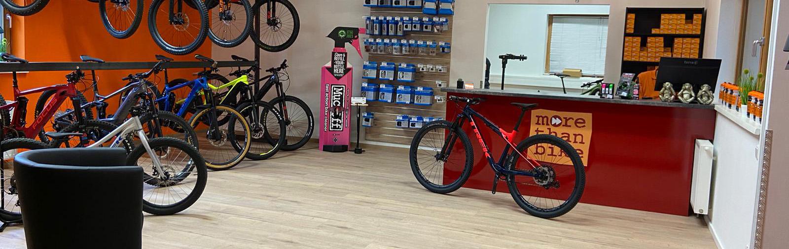 morethanbike Shop und Verleih Hohe Wand Wiese